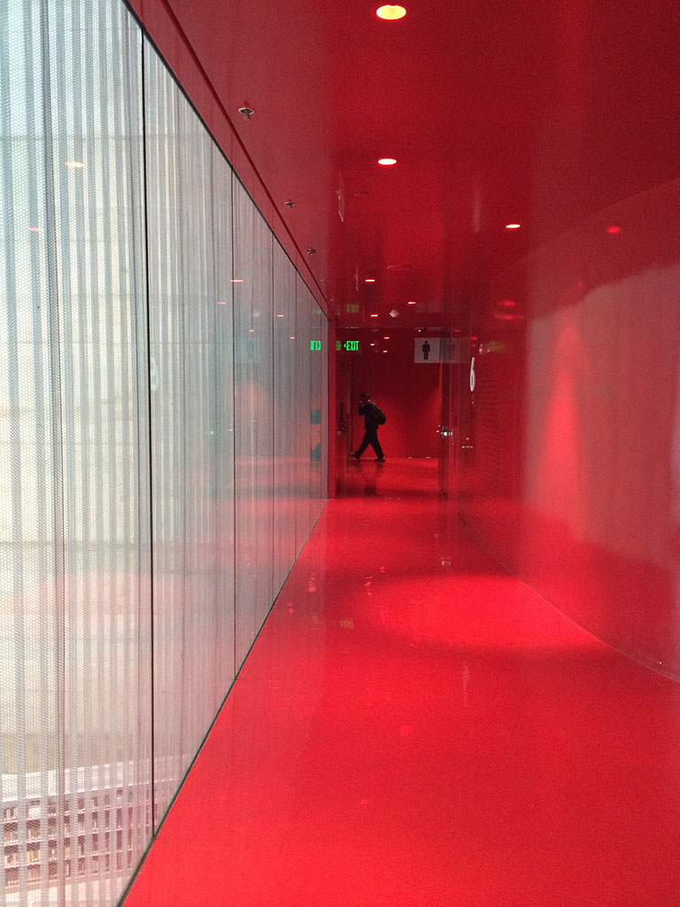 Seattle Central Library fourth floor meeting area (photo by Liz Thelen-Torres, Gould Evans)