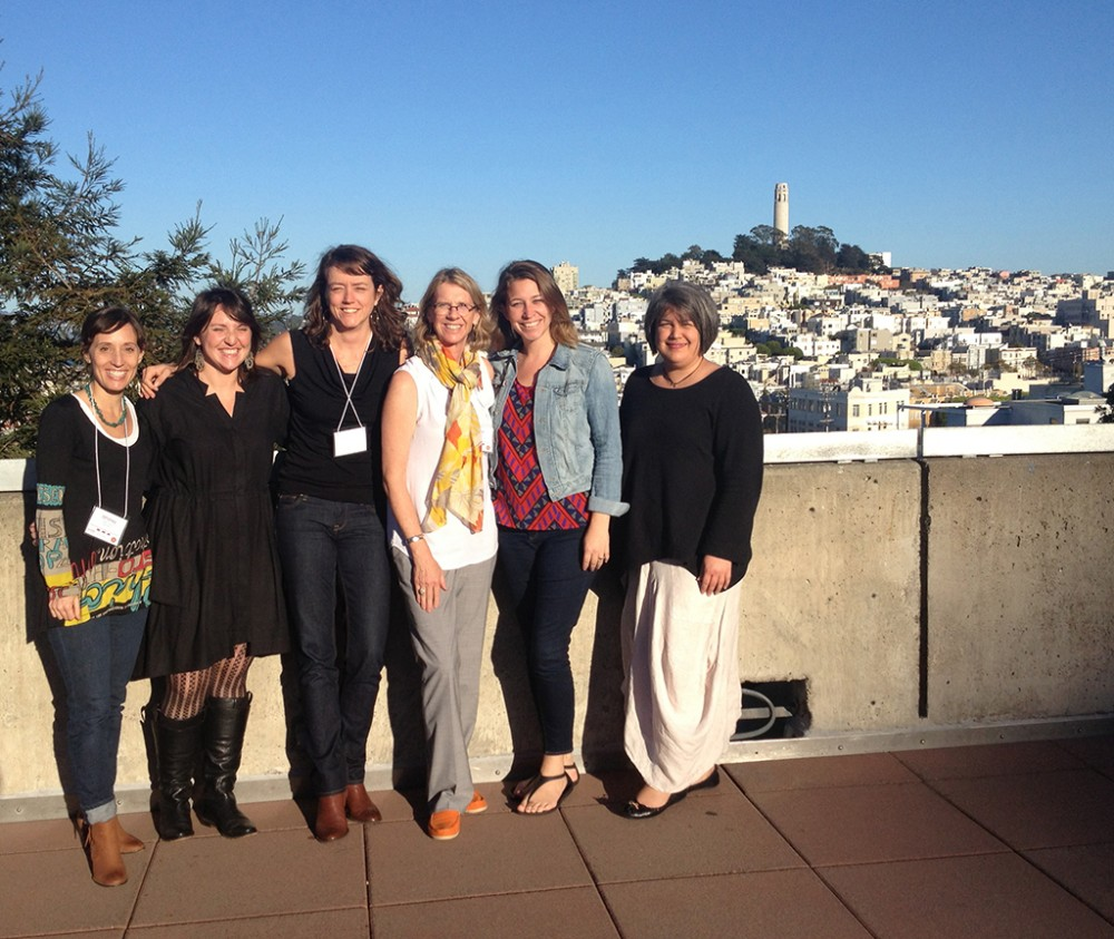 Equity by Design Symposium Attendees: Whitney Lang, Jennie Cannon-West, Amber Evans, Lauren Maass, Emily Harrold and Beverly Frank (John Westell was missing in action!)