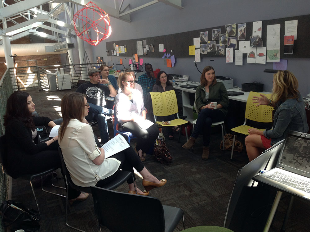 STEAM Studio Hosts KC Coalition for Homeless Youth Provider Services