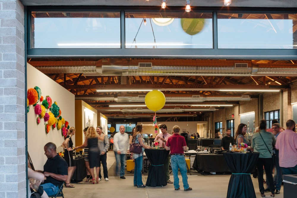 The Phoenix studio made the perfect space for the Cinco de Mayo-themed celebration.