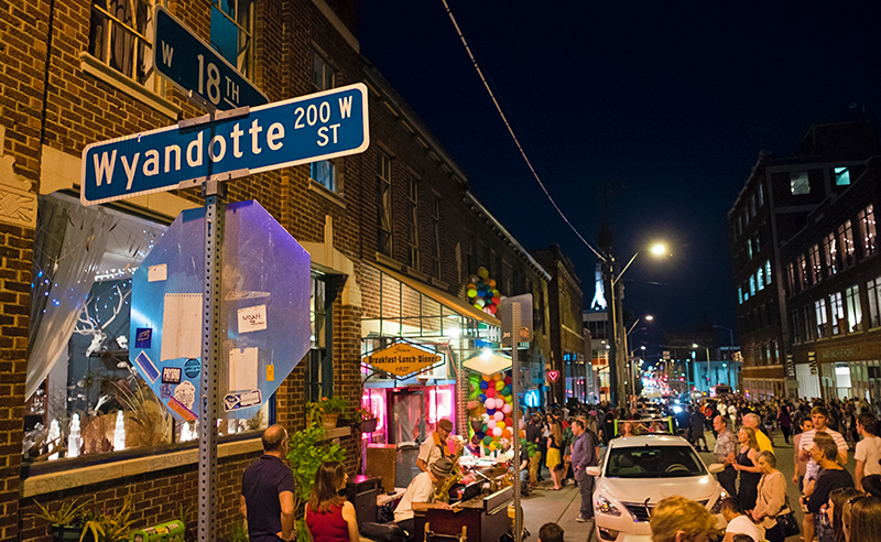 First Friday's in Crossroads District